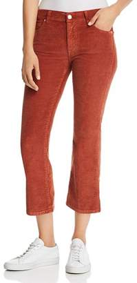 7 For All Mankind Cropped Bootcut Corduroy Jeans in Whiskey