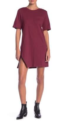 MinkPink Texture T-Shirt Dress
