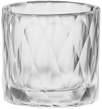 DAY Birger et Mikkelsen Diamond Handcut Glass Votive - Clear - 8x8cm