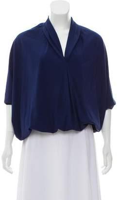 Ramy Brook Oversize Silk Top