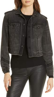 Polo Ralph Lauren Embellished Denim Trucker Jacket