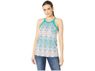 Rock and Roll Cowgirl Printed Tank Top 49-9385