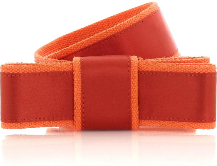 Thread Social Big bow satin belt