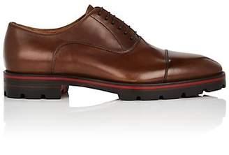 81af600fb65a Christian Louboutin Men s Hubertus Leather Balmorals - Brown
