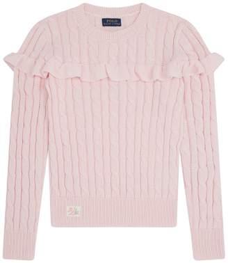 Polo Ralph Lauren Frill Detail Sweater