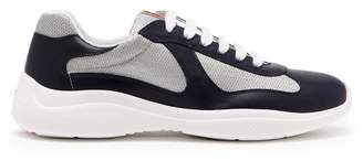 Prada - New America's Cup Low Top Trainers - Mens - Navy