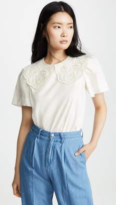 Sea Laurel Lace T-Shirt
