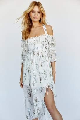For Love & Lemons Nicola Midi Dress