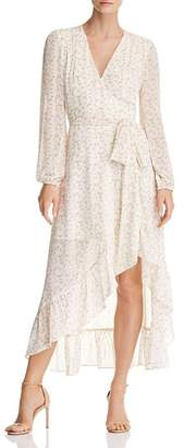 WAYF Messina Floral Wrap Dress - 100% Exclusive