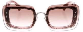Miu Miu Reveal Square Sunglasses