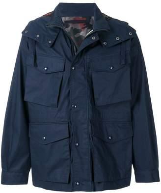 Sempach multi-pocket hooded jacket