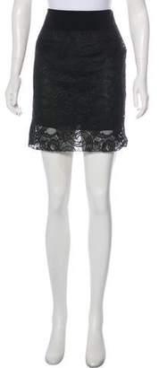 Reed Krakoff Lace Mini Skirt