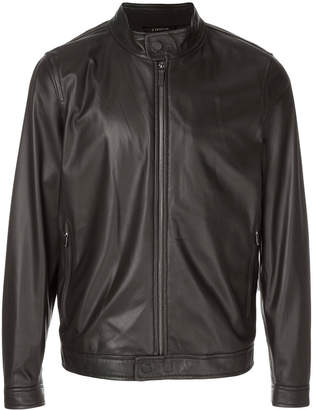 Z Zegna leather jacket