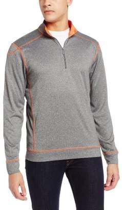 Cutter & Buck Men's Drytec Green Lake Half Zip Sweater