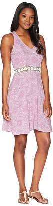 Roper 1599 Lace Printed Rayon Tank Dress Women's Dress