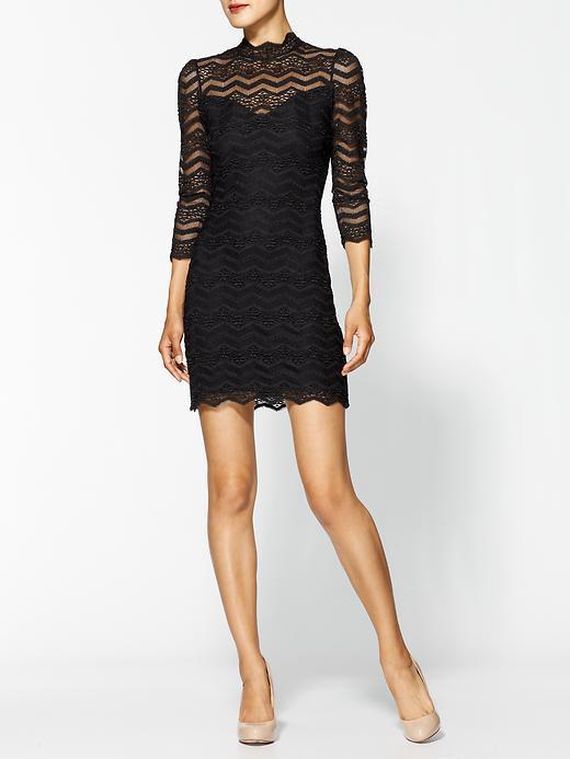 DV by Dolce Vita Cady Zig Zag Lace Dress