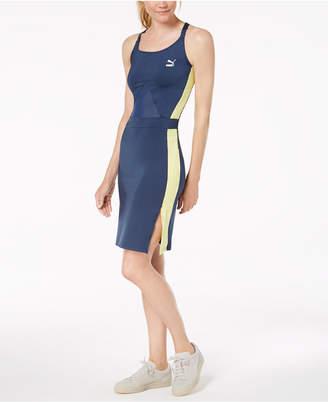 Puma Archive T7 Strappy-Back Bodycon Dress