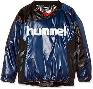 Hummel (ヒュンメル) - [ヒュンメル] サッカー ジュニア裏付きピステトップス HJW4181 [ボーイズ] ネイビー (70) 日本 120 (日本サイズ120 相当)