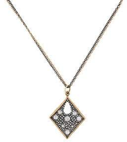 Moritz Glik Two-Tone Diamond Necklace