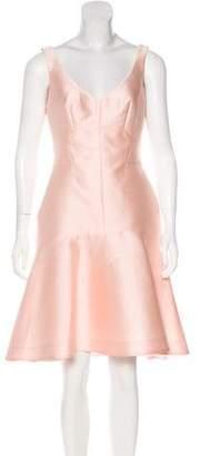 Lela Rose Silk-Blend Dress