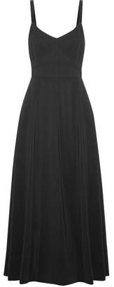 Elizabeth and James - Cynthia Cutout Stretch-crepe Midi Dress - Black $495 thestylecure.com