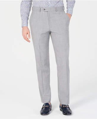 eea5bed601 Bar III Men Slim-Fit Stretch Light Gray Suit Pants