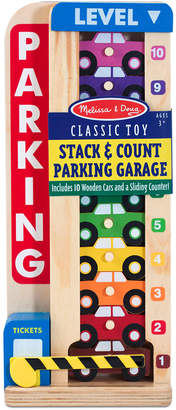 Melissa & Doug Kids' Stack & Count Parking Garage