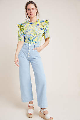 MiH Jeans Pardise High-Rise Straight Jeans