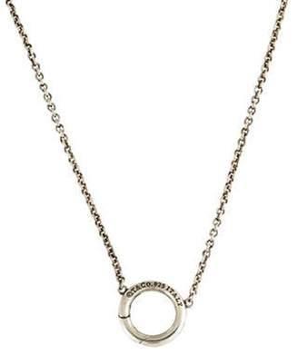 Tiffany & Co. Charm Holder Necklace silver Charm Holder Necklace