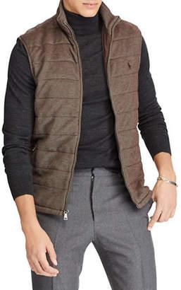 Polo Ralph Lauren Quilted Cotton-Blend Zip Vest