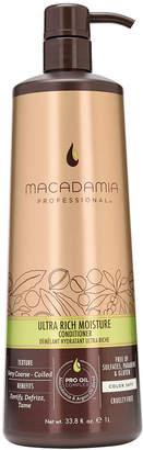 Macadamia Professional Ultra Rich Moisture Conditioner - 33.8 oz.