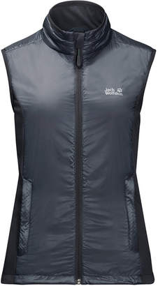 Jack Wolfskin Women's Air Lock Vest from Eastern Mountain Sports
