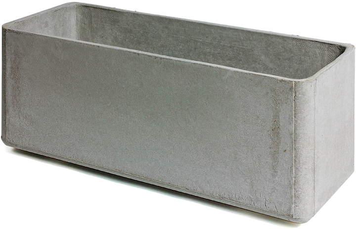 Eternit (Schweiz) AG Eternit - Delta Pflanzgefäß 35 x 30 x 80 cm, Grau