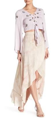 OnTwelfth Ruffled Tulip Maxi Skirt