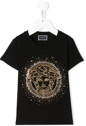 Versace logo patch T-Shirt