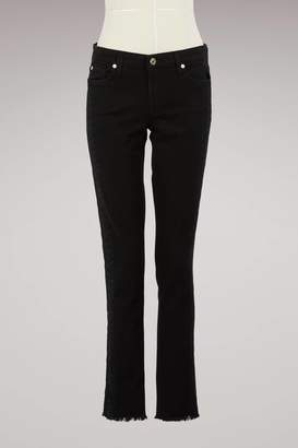 7 For All Mankind Pyper embroidered pants
