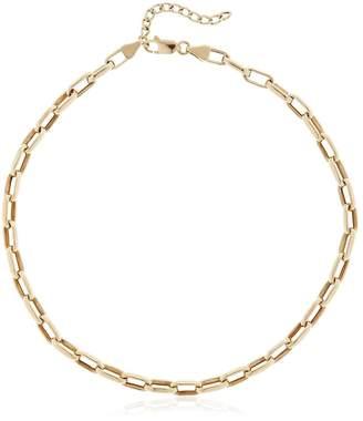 Franz Gold Chain Neckline