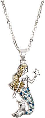 SPARKLE ALLURE Sparkle Allure 6227 Crystal Kingdom Critter Set Aug 2017 Womens Multi Color Silver Over Brass Pendant Necklace