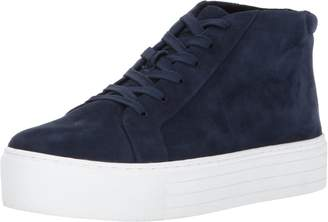 Kenneth Cole New York Women's Janette High Top Lace up Platform Suede Fashion Sneaker