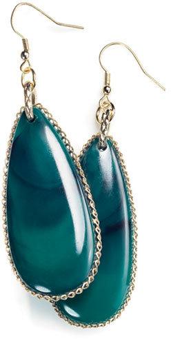 Avon Mark Green Piece Earrings