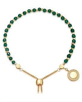 Astley Clarke Green Onyx Cosmos Kula Bracelet