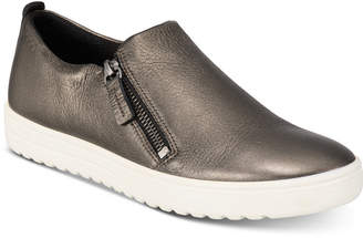 Ecco Women Fara Zip Slip-On Sneakers Women Shoes