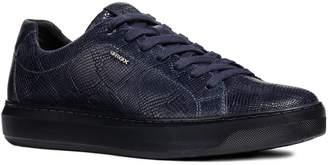 Geox Deiven 7 Snake Embossed Low Top Sneaker