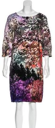 Mary Katrantzou Floral Silk Dress w/ Tags