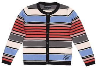 Armani Junior Stripe Cardigan