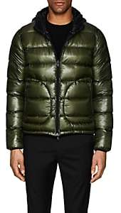 Herno Men's Hooded Ripstop Puffer Jacket - Green