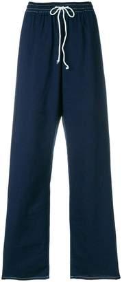 MM6 MAISON MARGIELA wide leg track pants