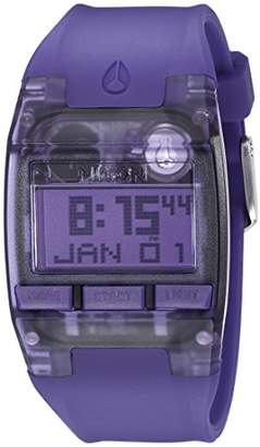 Nixon Men's A3362045 Comp S Digital Display Automatic Self Wind Purple Watch