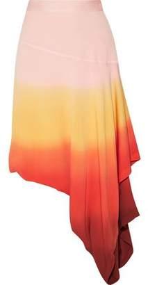 J.W.Anderson Asymmetric Layered Dégradé Crepe Skirt