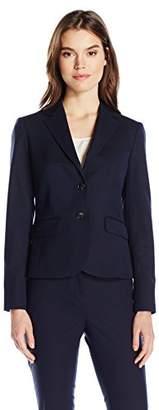 Jones New York Women's Washable Suiting Short 2 Btn Jacket